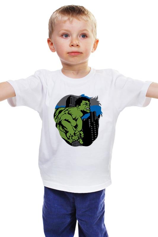 Детская футболка классическая унисекс Printio Халк (hulk) лонгслив printio халк hulk