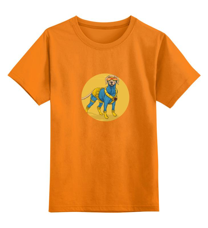 Детская футболка классическая унисекс Printio Супергерои: циклоп чехол для iphone 7 глянцевый printio супергерои комиксов
