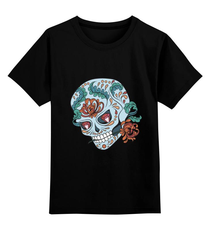 Детская футболка классическая унисекс Printio Skull детская футболка классическая унисекс printio skull style