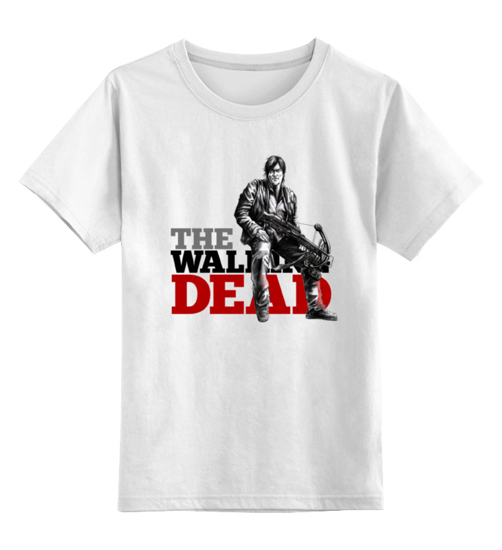 Детская футболка классическая унисекс Printio The walking dead