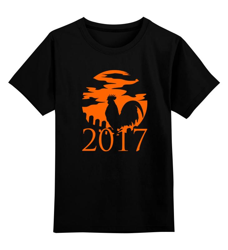 Детская футболка классическая унисекс Printio Год петуха