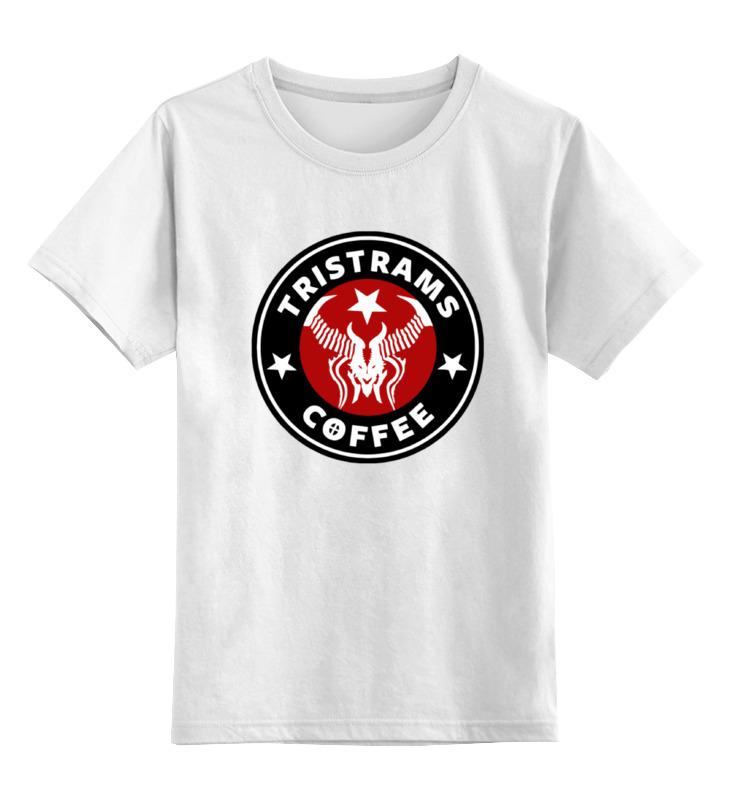Детская футболка классическая унисекс Printio Tristrams coffee (diablo) diablo 3 лицензионный диск в минске