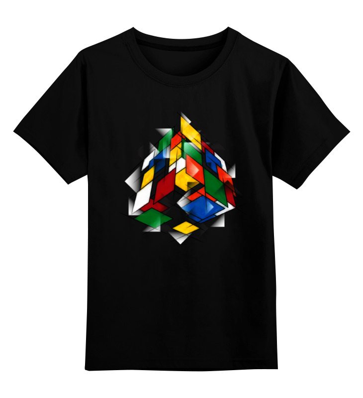 Printio Кубик рубика футболка с полной запечаткой для девочек printio кубик рубика