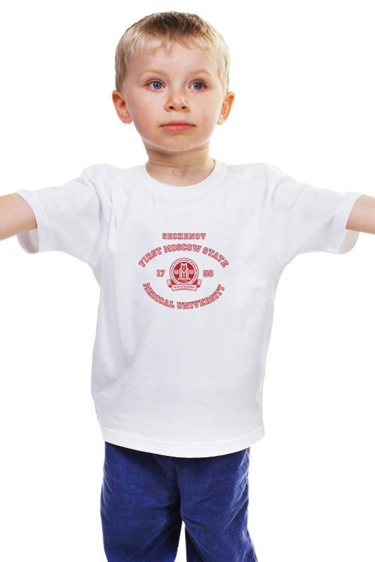 Детская футболка классическая унисекс Printio Футболка женская мгму