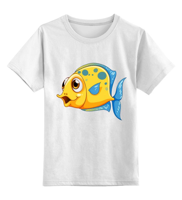 Детская футболка классическая унисекс Printio Рыбка 2 детская футболка классическая унисекс printio рыбка