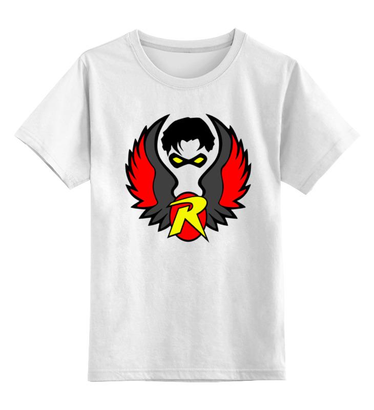 Детская футболка классическая унисекс Printio Робин (бэтмен) майка классическая printio бэтмен и робин
