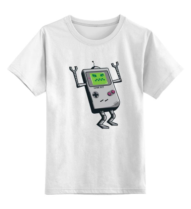 Детская футболка классическая унисекс Printio Game boy футболка рингер printio game boy bmo