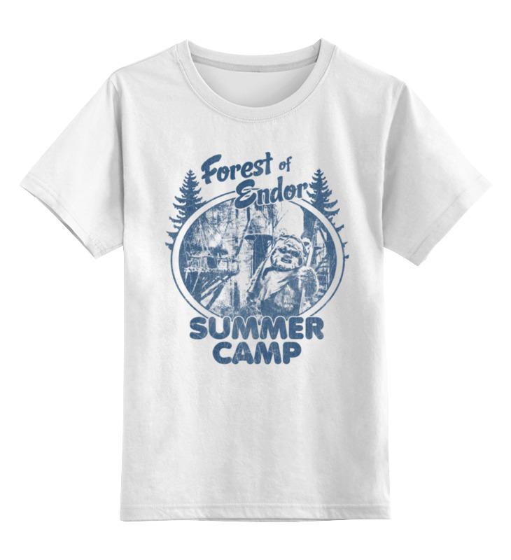 Детская футболка классическая унисекс Printio Лес эндора детская футболка классическая унисекс printio чернильный лес