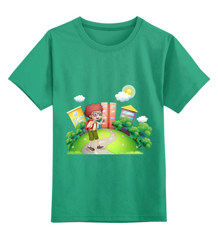 Детская футболка классическая унисекс Printio Школа футболка школа