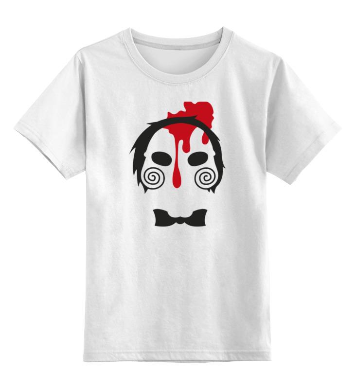 Детская футболка классическая унисекс Printio Кукла билли (пила)