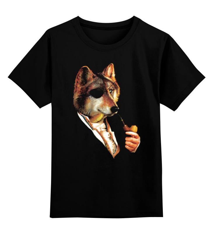 Детская футболка классическая унисекс Printio Одноглазый волк детская футболка классическая унисекс printio одноглазый тигр