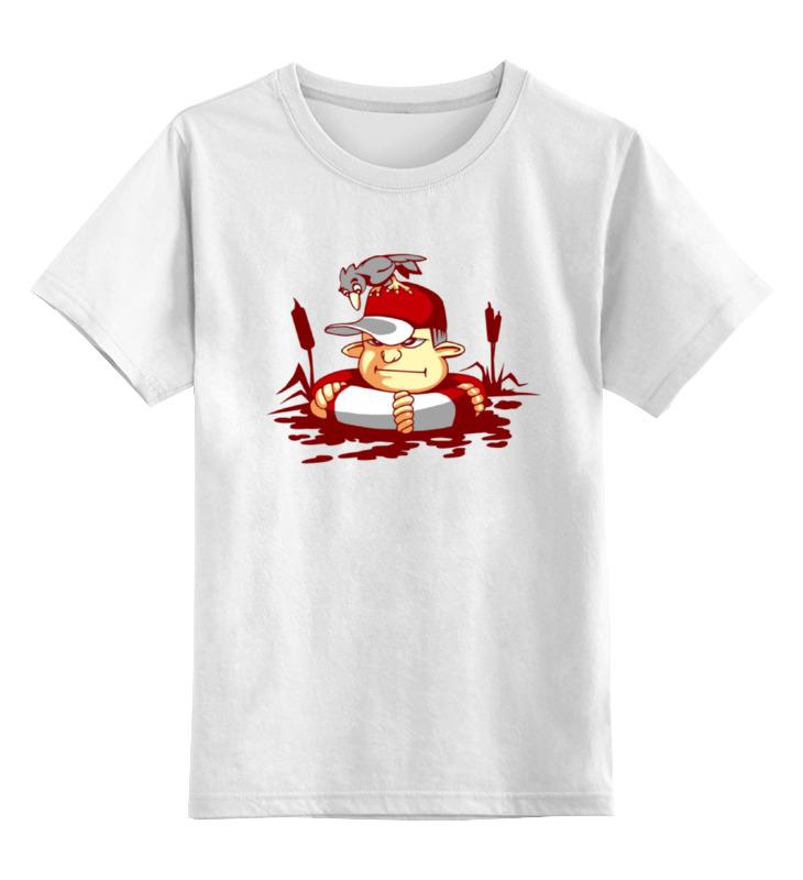 Детская футболка классическая унисекс Printio Купание в камышах купание в витаминами 300 мл