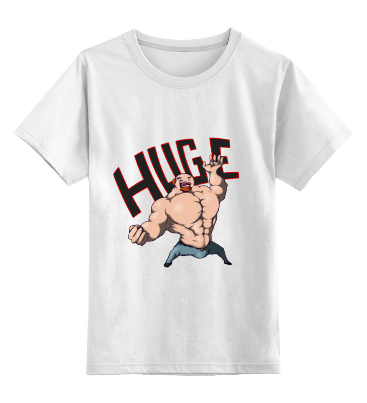 Детская футболка классическая унисекс Printio For huge arsb лонгслив printio psy art arsb