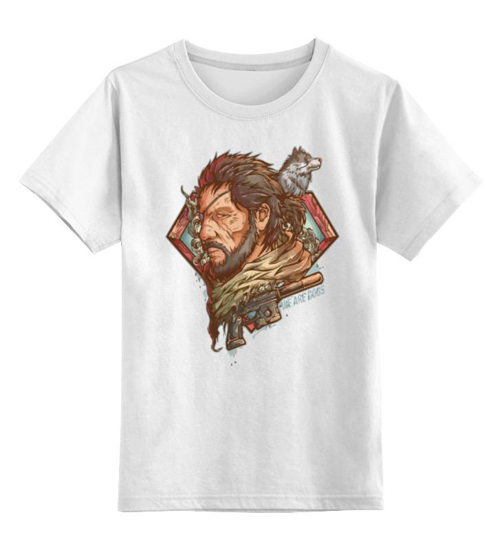 цена Детская футболка классическая унисекс Printio Big boss (metal gear solid)