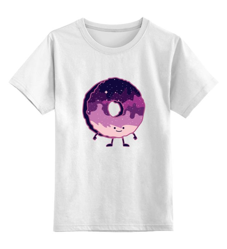 Детская футболка классическая унисекс Printio Космический пончик (space donut) детская футболка классическая унисекс printio кот и пончик