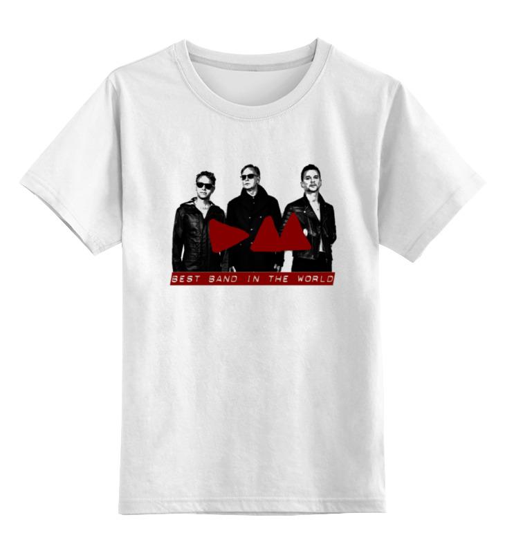 Детская футболка классическая унисекс Printio Depeche mode band детская футболка классическая унисекс printio depeche mode the band