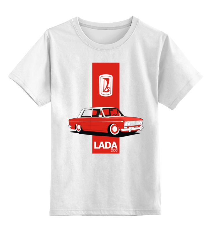 Детская футболка классическая унисекс Printio Retro ride автобазар белая церьковь ваз