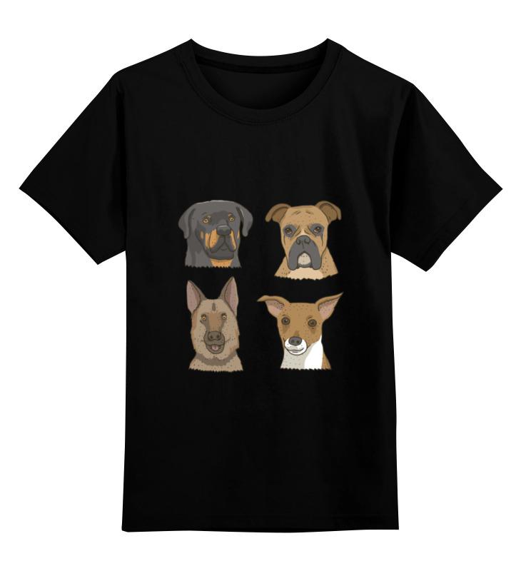 Детская футболка классическая унисекс Printio Собаки детская футболка классическая унисекс printio собаки мои друзья