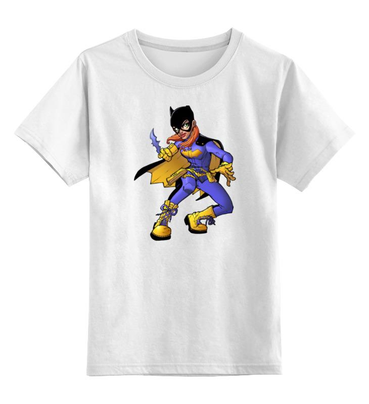 Детская футболка классическая унисекс Printio Batgirl