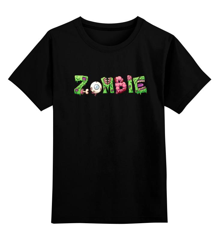 Детская футболка классическая унисекс Printio Zombie halloween costumes for kids cosplay zombie scary intestines clothes stage outfits for children set horror night zombie clothing