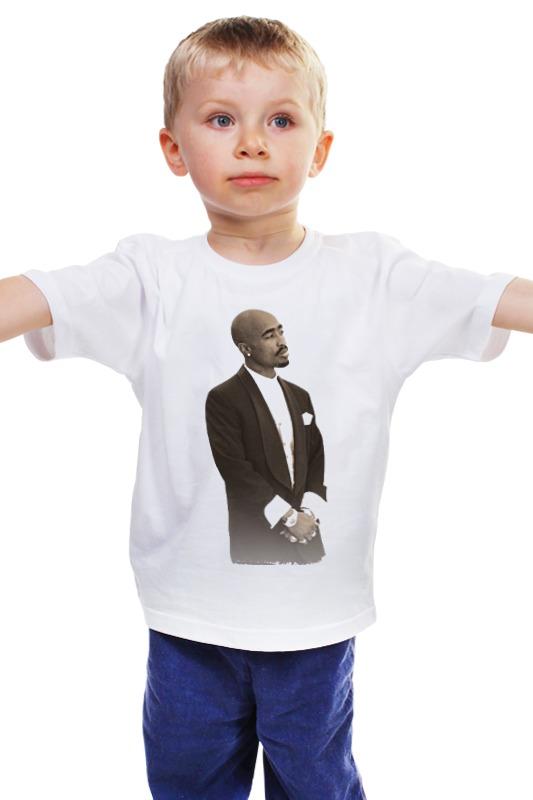 Детская футболка классическая унисекс Printio 2pac shakur футболка классическая printio 2pac