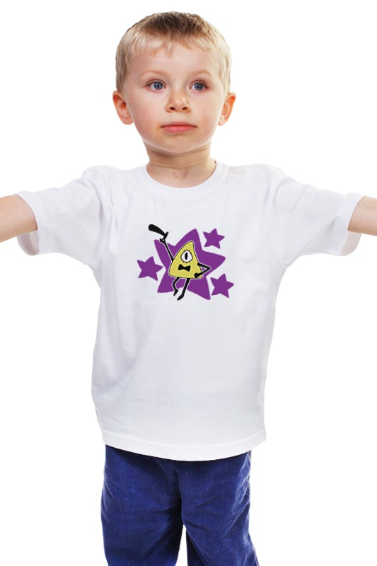 Детская футболка классическая унисекс Printio Билл шифр (гравити фолз) burberry burberry тени для век eye colour glow 001 gold pearl