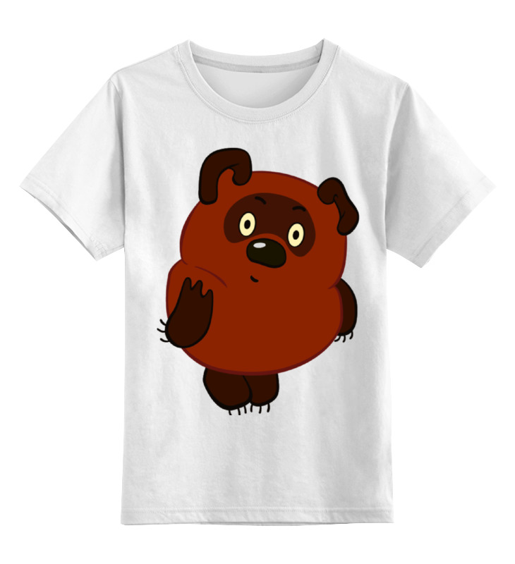 Детская футболка классическая унисекс Printio Винни-пух майка классическая printio винни пух