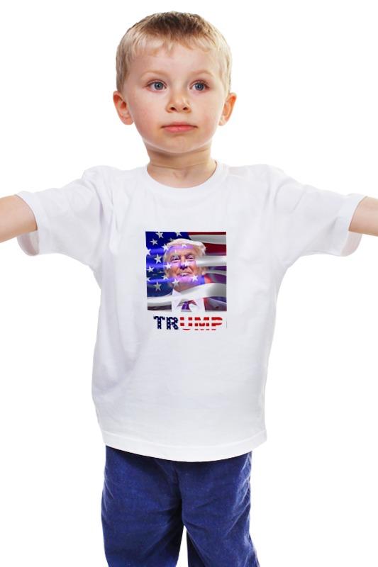 Детская футболка классическая унисекс Printio Президент сша - дональд трамп