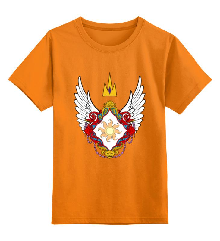 Детская футболка классическая унисекс Printio My little pony - герб celestia (селестия)