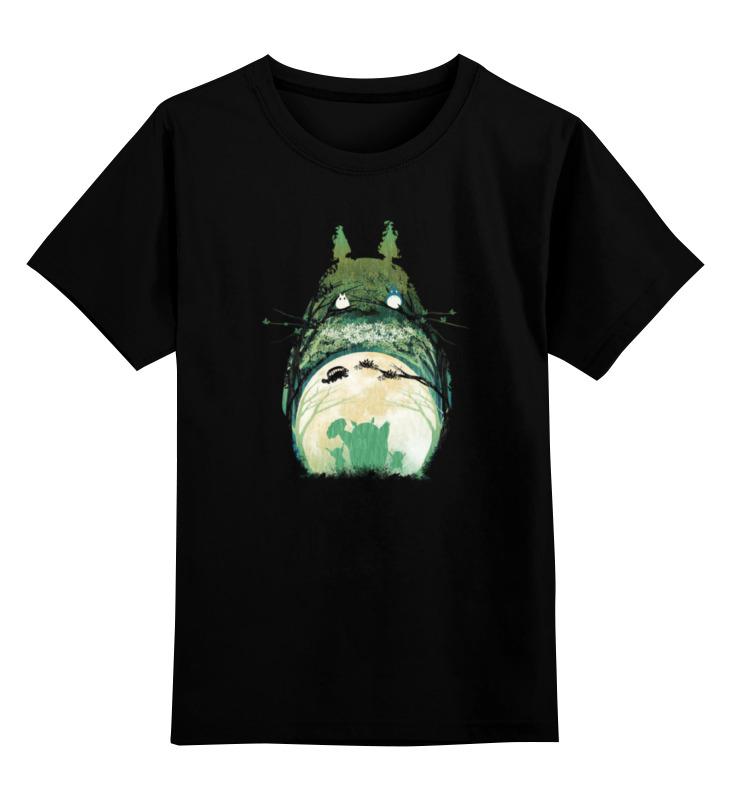 Детская футболка классическая унисекс Printio Тоторо