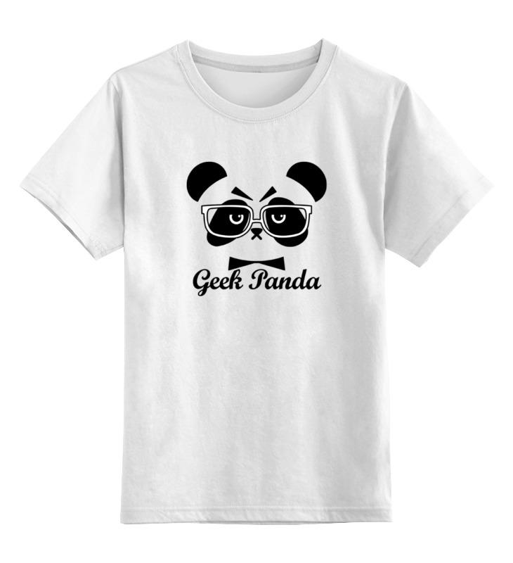 Printio Панда (panda) детская футболка классическая унисекс printio панда