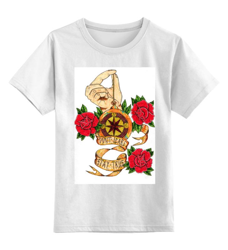 Детская футболка классическая унисекс Printio ost print tattoo майка классическая printio ost print tattoo