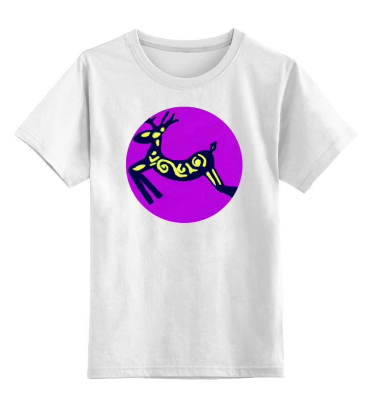 Детская футболка классическая унисекс Printio Олень детская футболка классическая унисекс printio олень