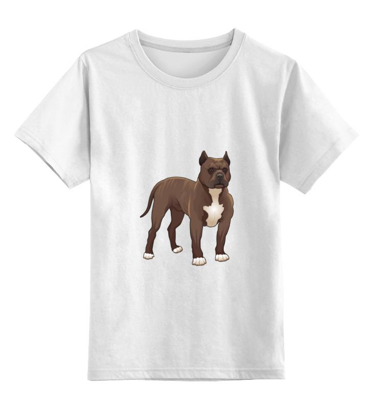 Детская футболка классическая унисекс Printio Боксёр