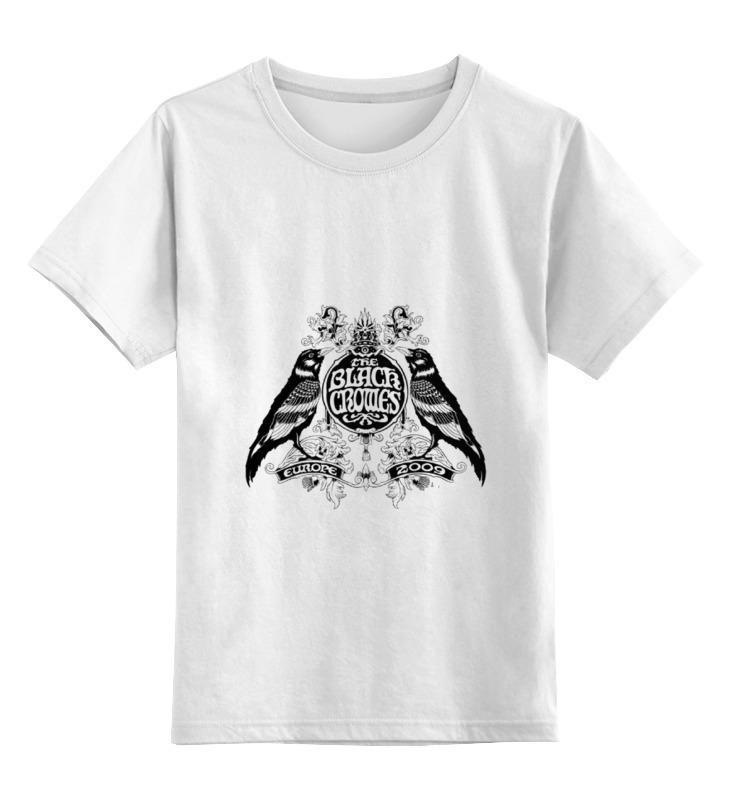 Детская футболка классическая унисекс Printio Black crowes футболка классическая printio the black keys