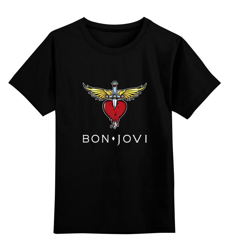 Детская футболка классическая унисекс Printio Bon jovi bon jovi crush 2 lp