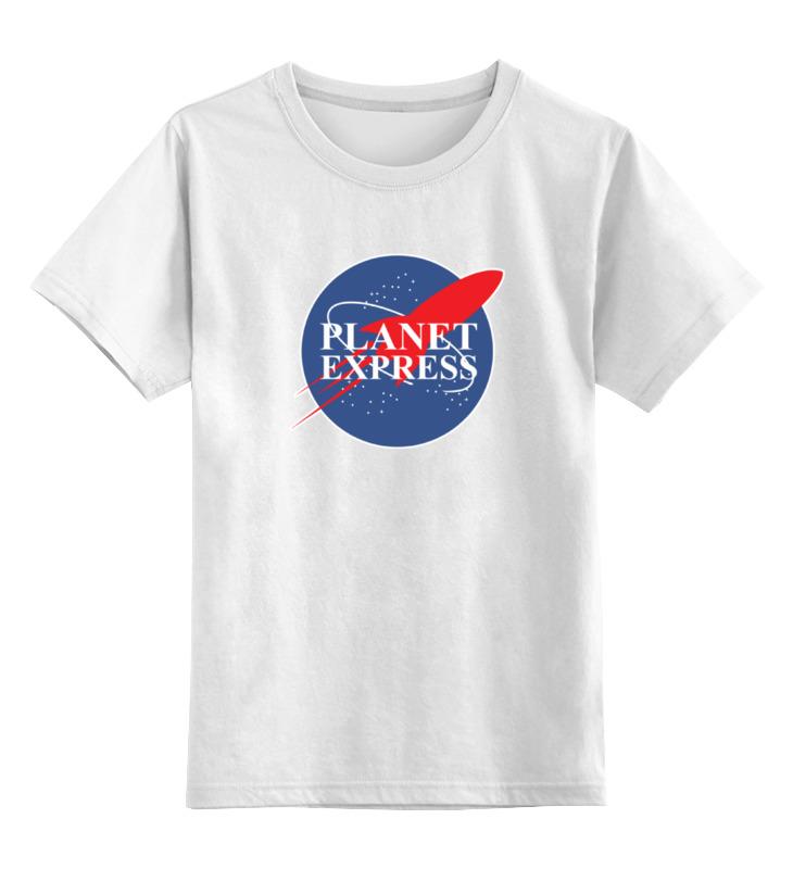 Детская футболка классическая унисекс Printio Межпланетный экспресс (футурама) межпланетный круизер audio cd