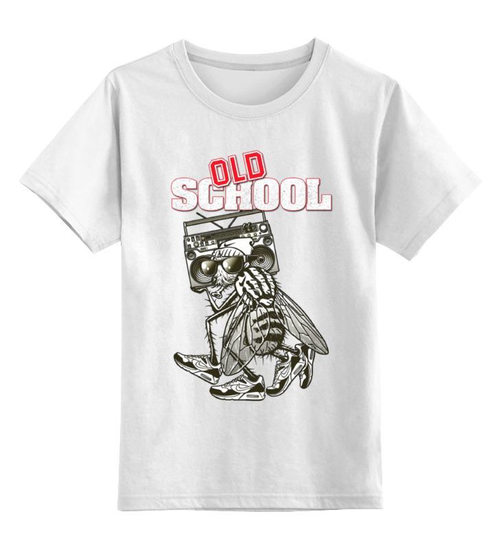Детская футболка классическая унисекс Printio Old school art футболка old school