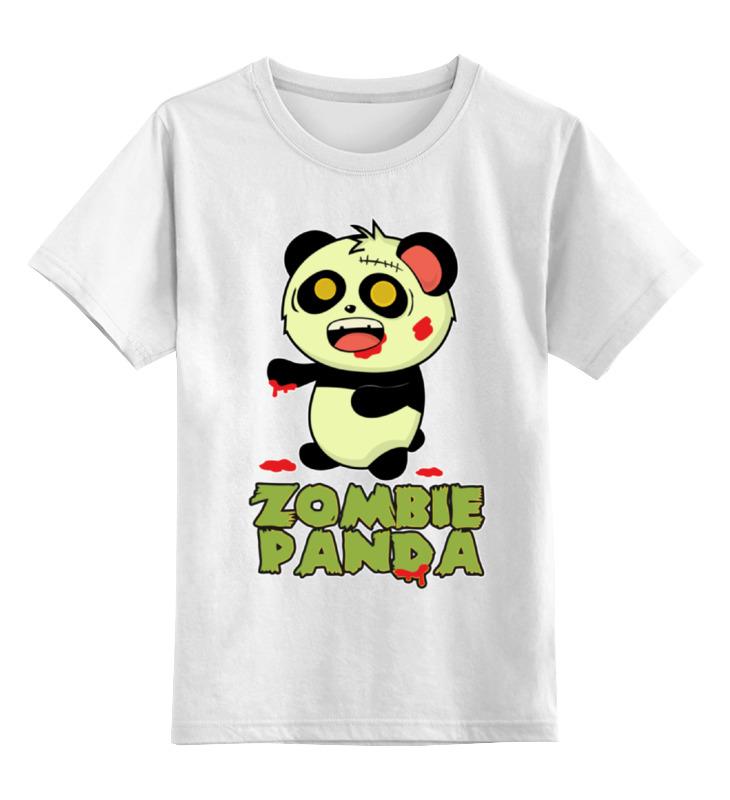 Детская футболка классическая унисекс Printio Зомби панда детская футболка классическая унисекс printio король панда
