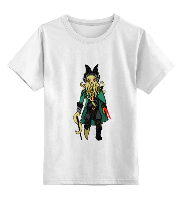 цена на Детская футболка классическая унисекс Printio Аларак дэйви джонс