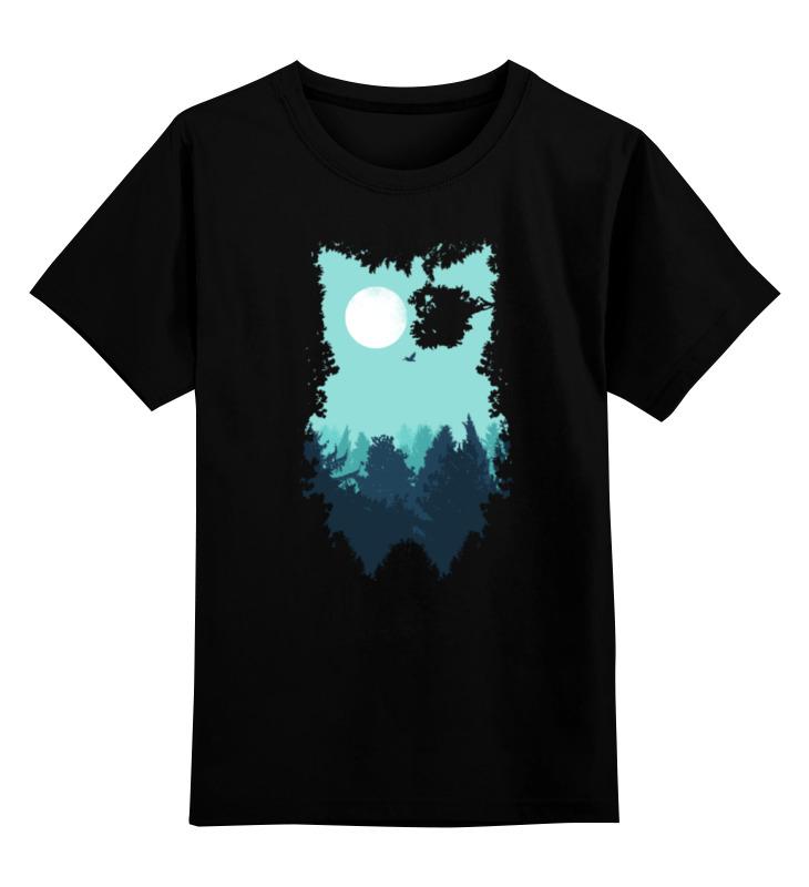 Printio Сова (абстракция) детская футболка классическая унисекс printio зимняя сова