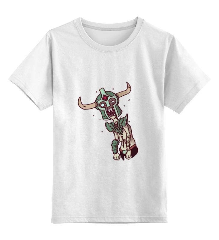 Детская футболка классическая унисекс Printio Dota 2 - undying детская футболка классическая унисекс printio классическая футболка dota 2