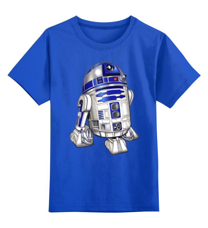Детская футболка классическая унисекс Printio R2-d2 (star wars) футболка классическая printio r2 d2 star wars