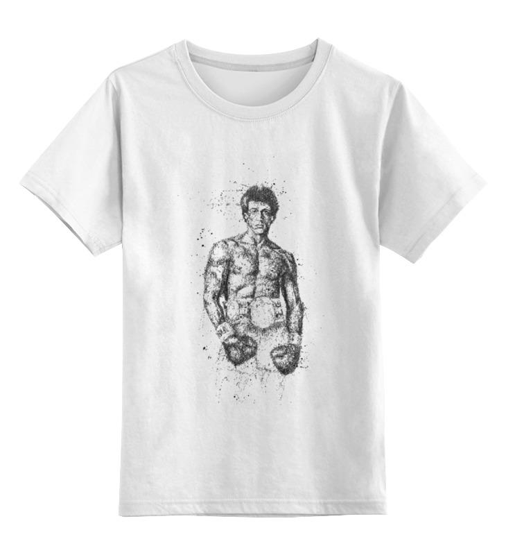 Детская футболка классическая унисекс Printio Сильвестр сталлоне лонгслив printio сильвестр сталлоне barney ross