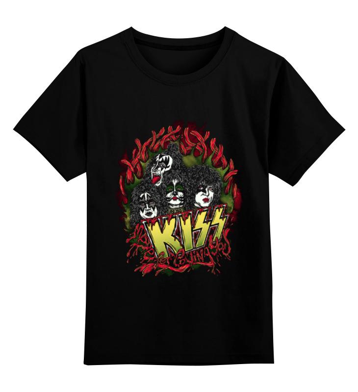 Детская футболка классическая унисекс Printio Группа кисс , kiss детская футболка классическая унисекс printio кисс язык