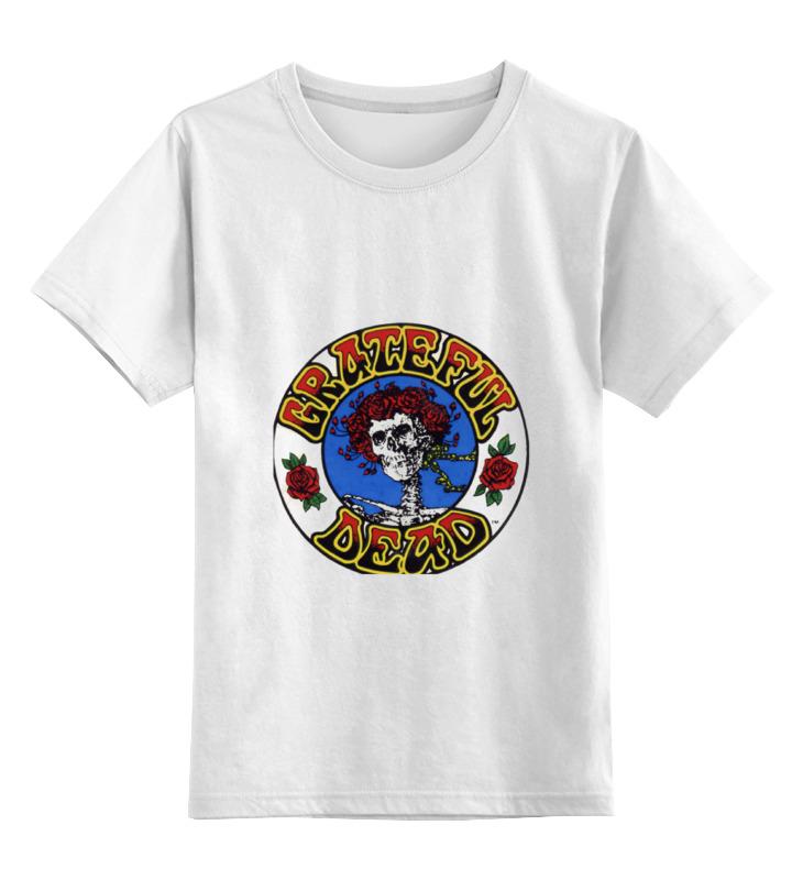 Детская футболка классическая унисекс Printio Grateful dead закирова н джаз история музыка и волшебство детская энциклопедия cd