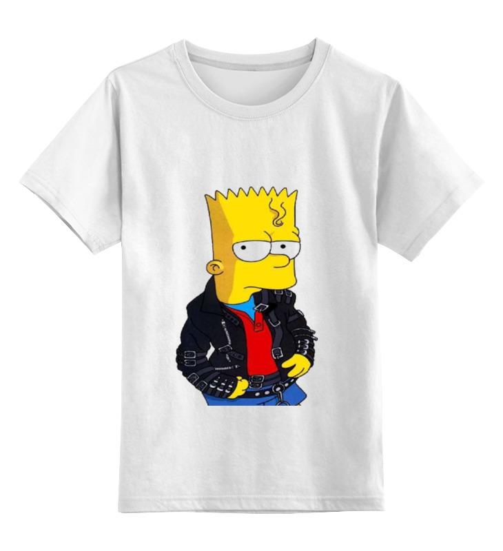 Детская футболка классическая унисекс Printio Bart футболка print bar stewie and bart