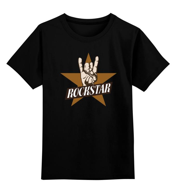 Детская футболка классическая унисекс Printio Рок-звезда детская футболка классическая унисекс printio rock star рок звезда