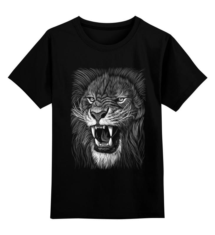 Детская футболка классическая унисекс Printio Царь зверей детская футболка классическая унисекс printio просто царь