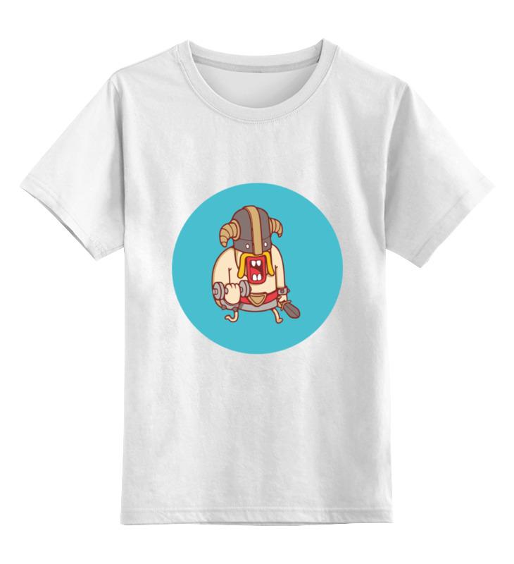 Детская футболка классическая унисекс Printio Clash of clans shan d zom b clans